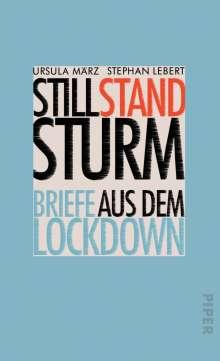 Ursula März: Stillstandsturm, Buch