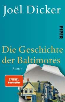 Joël Dicker: Die Geschichte der Baltimores, Buch