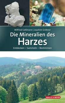 Wilfried Ließmann: Die Mineralien des Harzes, Buch