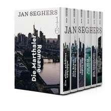 Jan Seghers: Die Marthaler-Romane, Buch