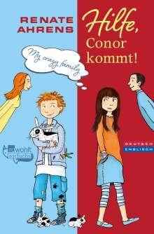 Renate Ahrens: Hilfe, Conor kommt!, Buch