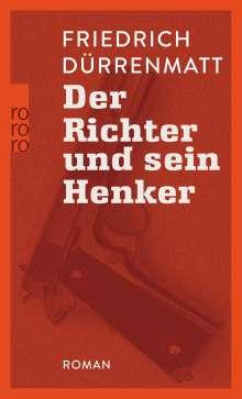 Friedrich Dürrenmatt: Der Richter und sein Henker, Buch