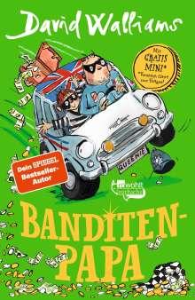 David Walliams: Banditen-Papa, Buch