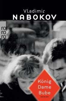 Vladimir Nabokov: König Dame Bube, Buch