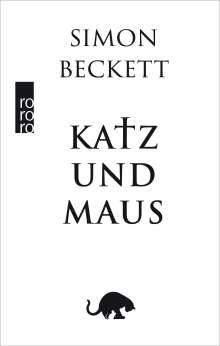 Simon Beckett: Katz und Maus, Buch