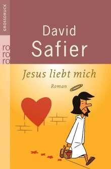 David Safier: Jesus liebt mich. Großdruck, Buch