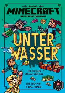 Nick Eliopulos: Minecraft, Unter Wasser, Buch