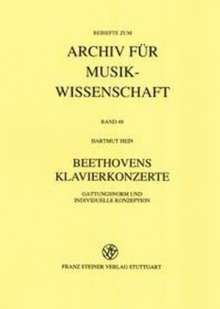 Hartmut Hein: Beethovens Klavierkonzerte, Buch