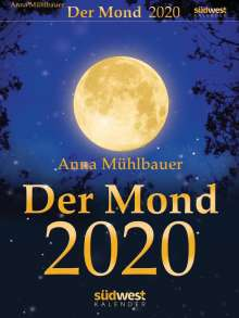 Anna Mühlbauer: Der Mond 2020 Tagesabreißkalender, Diverse