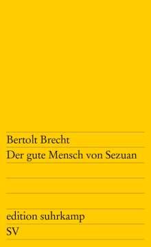 Bertolt Brecht: Der gute Mensch von Sezuan, Buch