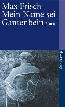 Max Frisch: Mein Name sei Gantenbein, Buch