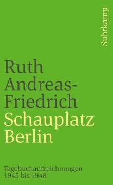 Ruth Andreas-Friedrich: Schauplatz Berlin, Buch