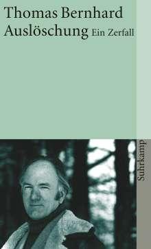 Thomas Bernhard: Auslöschung, Buch