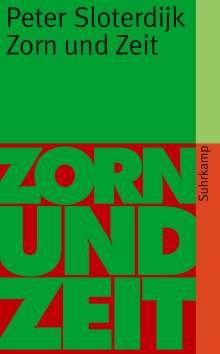 Peter Sloterdijk: Zorn und Zeit, Buch