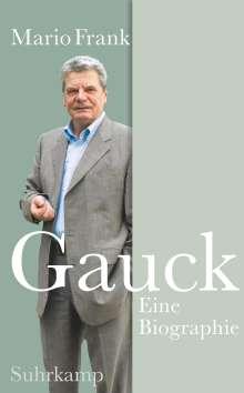 Mario Frank: Gauck, Buch