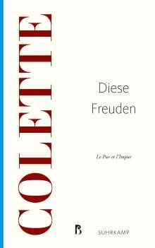 Colette: Diese Freuden, Buch