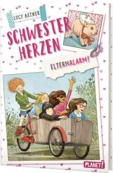 Lucy Astner: Schwesterherzen 4: Elternalarm!, Buch