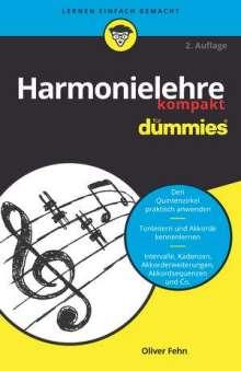 Oliver Fehn: Harmonielehre kompakt für Dummies, Buch