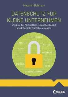 Nasanin Bahmani: Datenschutz für kleine Unternehmen, Buch