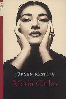 Jürgen Kesting: Maria Callas, Buch