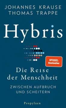 Johannes Krause: Hybris, Buch