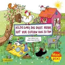 Sabine Cuno: Maxi Pixi 346: VE 5: Hildegard das dicke Huhn, hat vor Ostern viel zu tun (5x1 Exemplar), Diverse