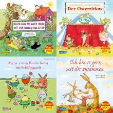 Jutta Langreuter: Maxi-Pixi-Box 85: Frühling mit Maxi Pixi (4x5 Exemplare), Diverse