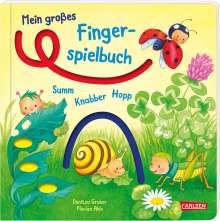 Florian Ahle: Mein großes Fingerspielbuch: Summ, knabber, hopp!, Buch