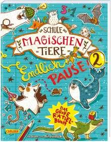 Nikki Busch: Die Schule der magischen Tiere: Endlich Pause! Das große Rätselbuch Band 2, Buch