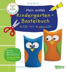 Maïte Balart: Spiel+Spaß für KiTa-Kinder: Mein erstes Kindergarten-Bastelbuch: Alles mit Klorollen, Buch