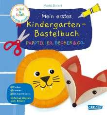 Maïte Balart: Spiel+Spaß für KiTa-Kinder: Mein erstes Kindergarten-Bastelbuch: Pappteller, Becher & Co., Buch