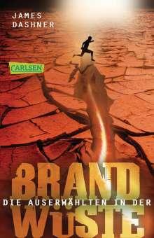 James Dashner: Maze Runner 02. Die Auserwählten - In der Brandwüste, Buch