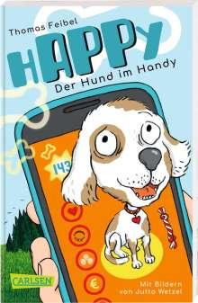Thomas Feibel: hAPPy - Der Hund im Handy, Buch