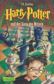 Joanne K. Rowling: Harry Potter 1 und der Stein der Weisen, Buch