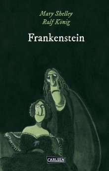 Ralf König: Die Unheimlichen: Frankenstein nach Mary Shelley, Buch