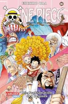 Eiichiro Oda: One Piece 80., Buch