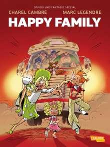 Marc Legendre: Spirou und Fantasio Spezial 35: Happy Family, Buch