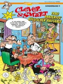 Francisco Ibáñez: Clever und Smart Sonderband 9: Frau Bakterius höllischer Haushalt, Buch