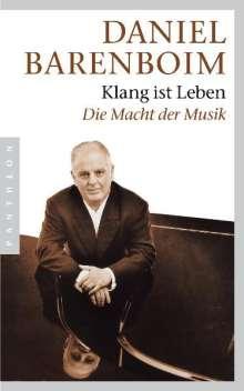 """Daniel Barenboim: """"Klang ist Leben"""", Buch"""