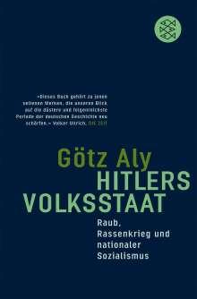 Götz Aly: Hitlers Volksstaat, Buch