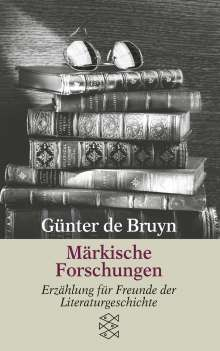 Günter de Bruyn: Märkische Forschungen, Buch