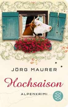 Jörg Maurer: Hochsaison, Buch