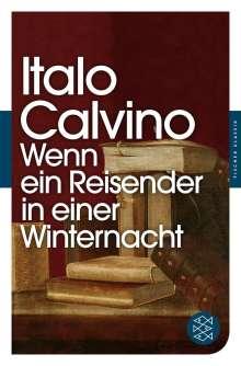 Italo Calvino: Wenn ein Reisender in einer Winternacht, Buch