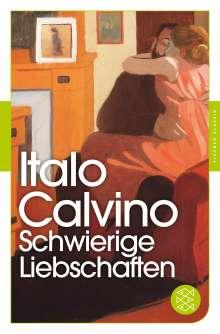 Italo Calvino: Schwierige Liebschaften, Buch
