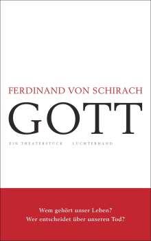 Ferdinand von Schirach: Gott, Buch