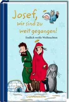 Josef, wir sind zu weit gegangen!, Buch