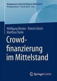 Wolfgang Becker: Crowdfinanzierung im Mittelstand, Buch