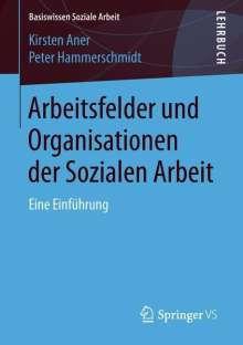 Kirsten Aner: Arbeitsfelder und Organisationen der Sozialen Arbeit, Buch