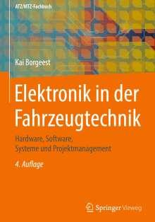 Kai Borgeest: Elektronik in der Fahrzeugtechnik, Buch