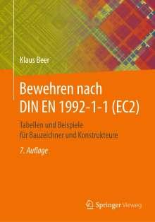 Klaus Beer: Bewehren nach DIN EN 1992-1-1 (EC2), Buch